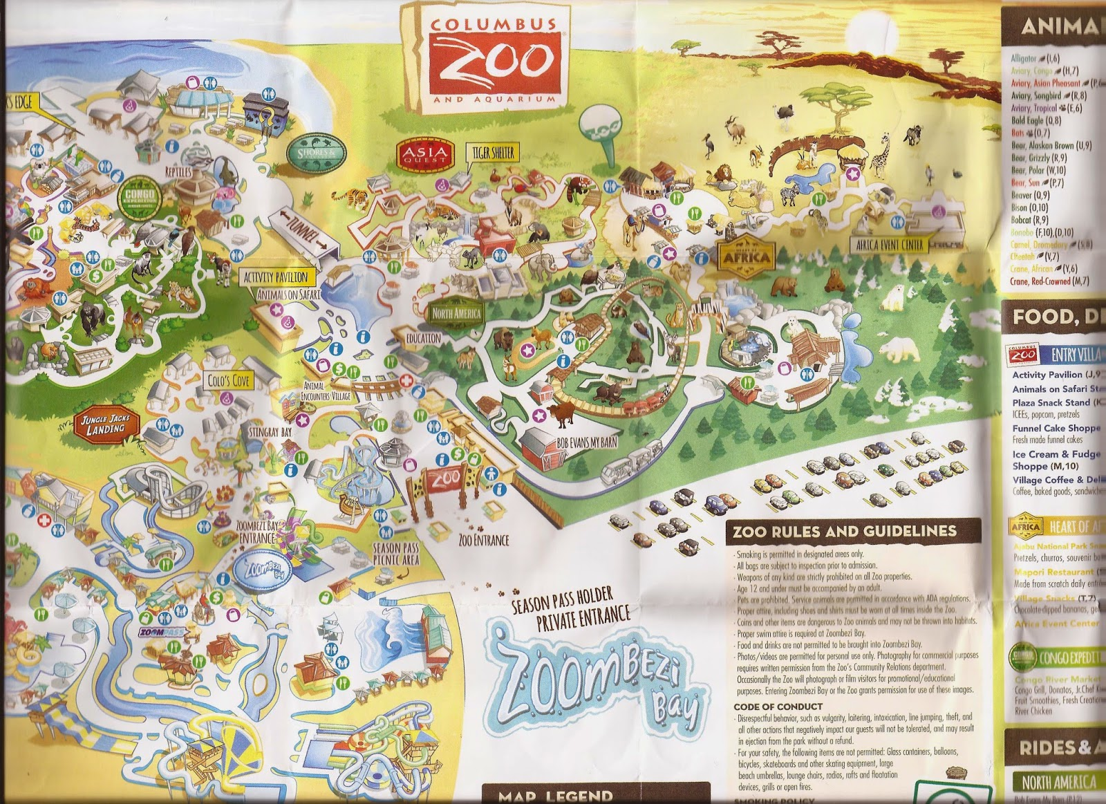 Zoo Tails Columbus Zoo Map - Houston zoo map