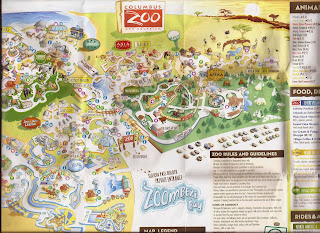 2015 columbus zoo map