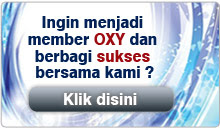 Form Regristrasi Member OXY