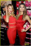 VS's Candice Swanepoel's red dress!