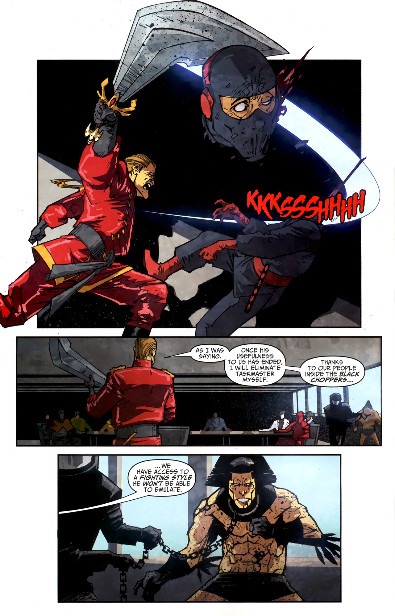 Read online Taskmaster (2010) comic -  Issue #3 - 17