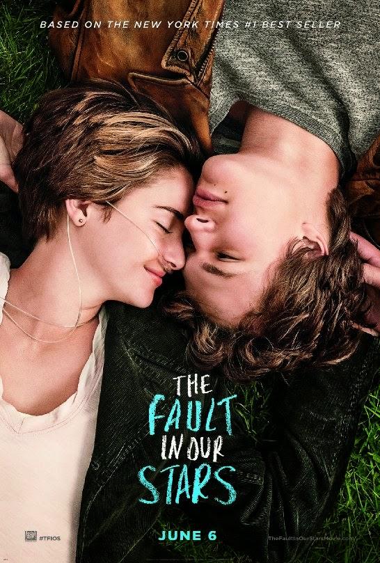 cartaz do filme A culpa é das estrelas