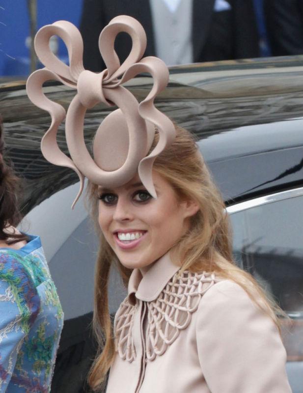 Viva La Sposa Princess Beatrice Royal Wedding Hat By Philip Treacy