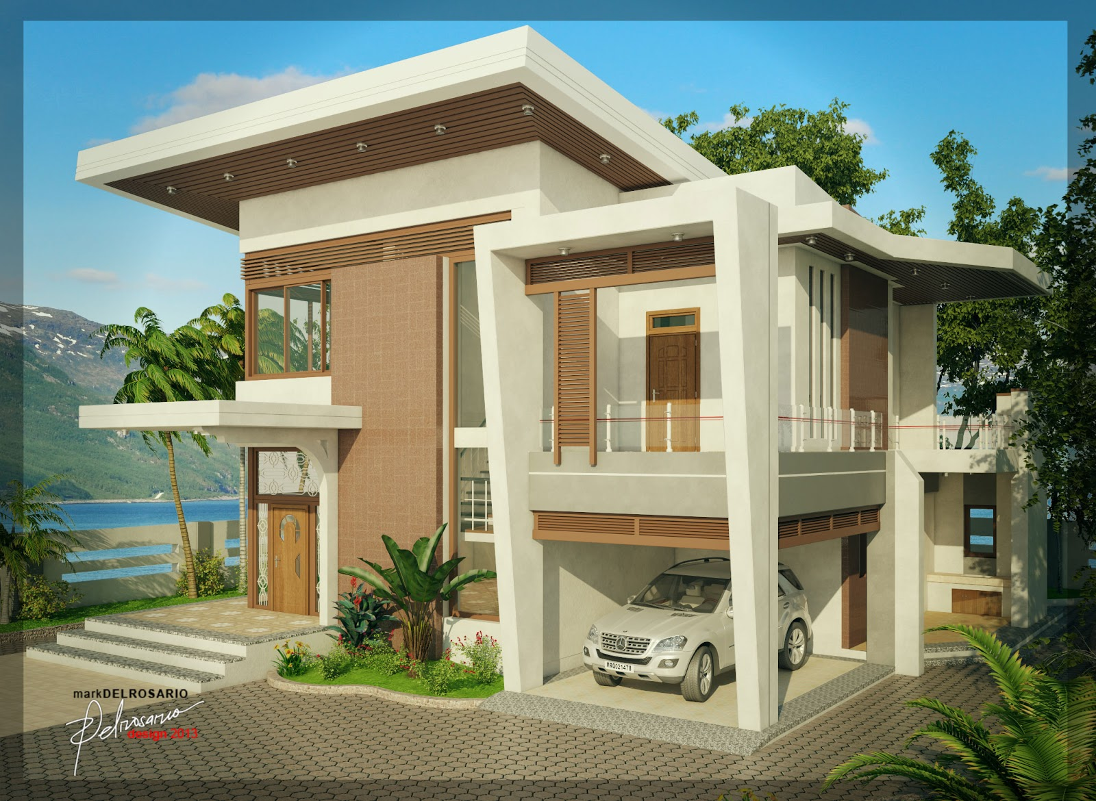 Mark del rosario blog 3d visual Residential design