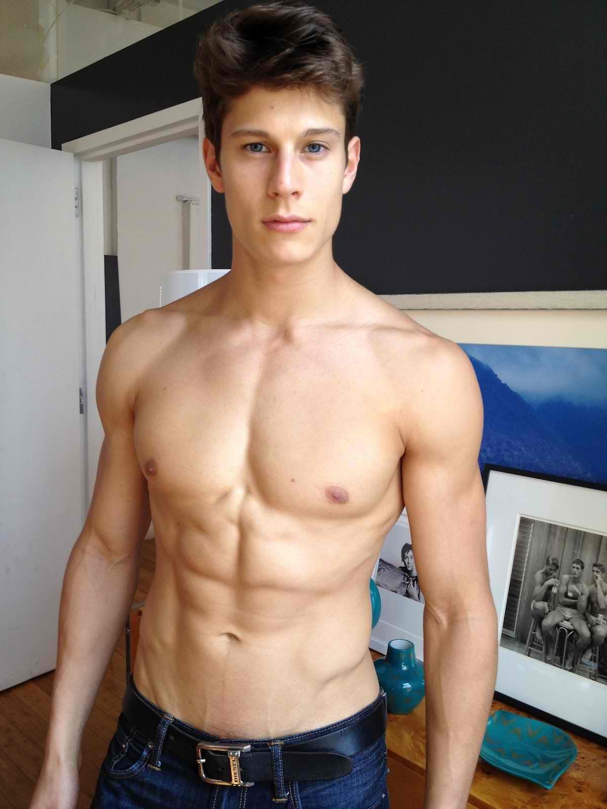 Male model body