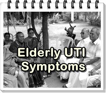 4 common symptoms of uti in older people
