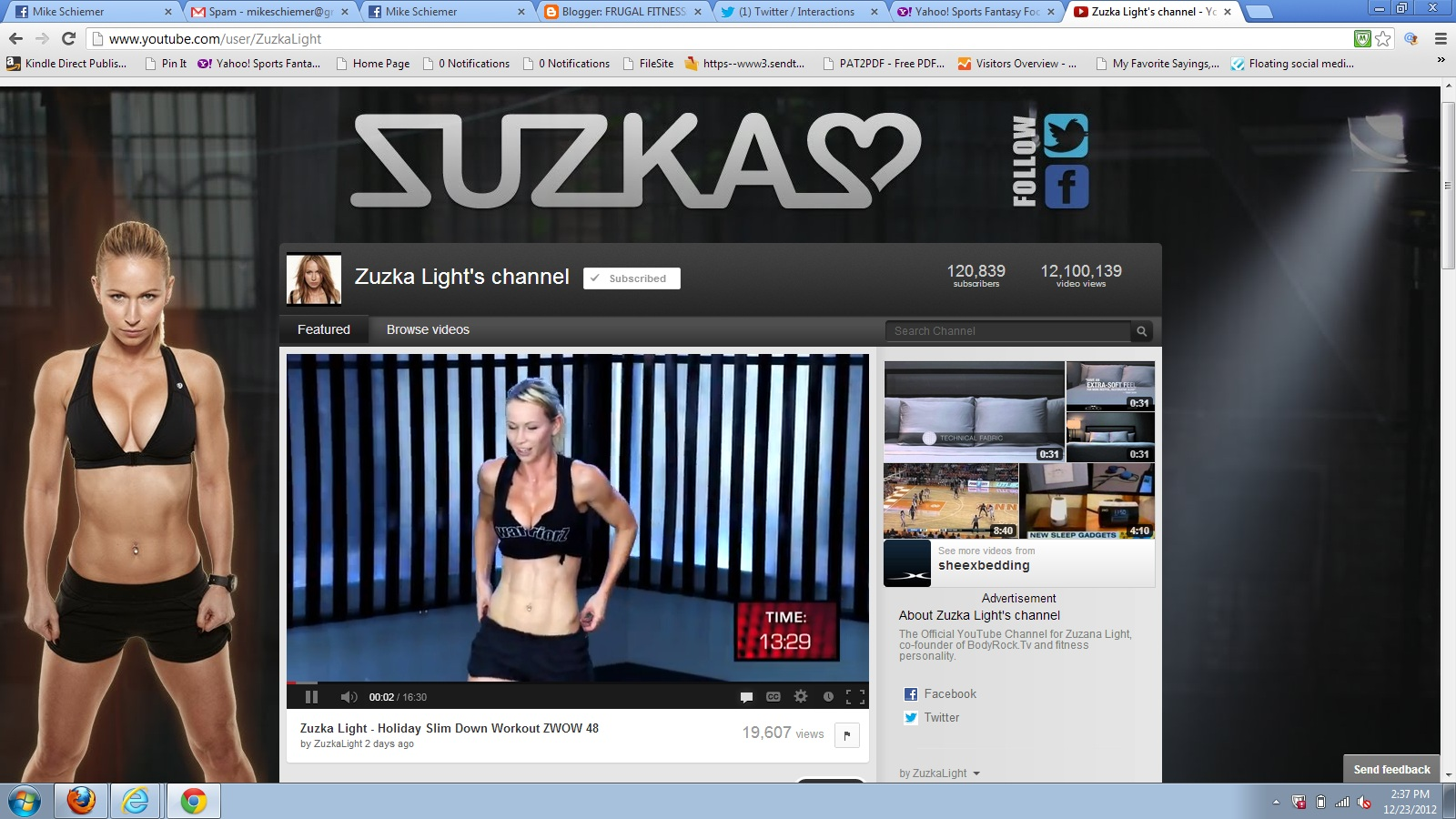 Zuzana+Light+Zuzka+Light+Fitness+YouTube+Adult+Filmstar+Pornstar+Charlie+James+Butt+Six+Pack+Abs+Buns+of+Steel Funny and sexy gay cartoon pics for your pleasure.   Picture 10