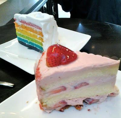 Cakes at Dean & Deluca Singapore