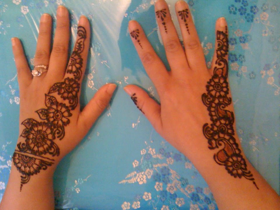 Mehndi Designs For Hands Eid : Eid mehndi designs henna