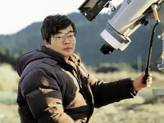 Yuji Hyakutake dengan Komet Penemuannya