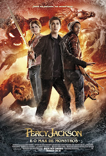 "Poster do filme ""Percy Jackson e o Mar de Monstros"""