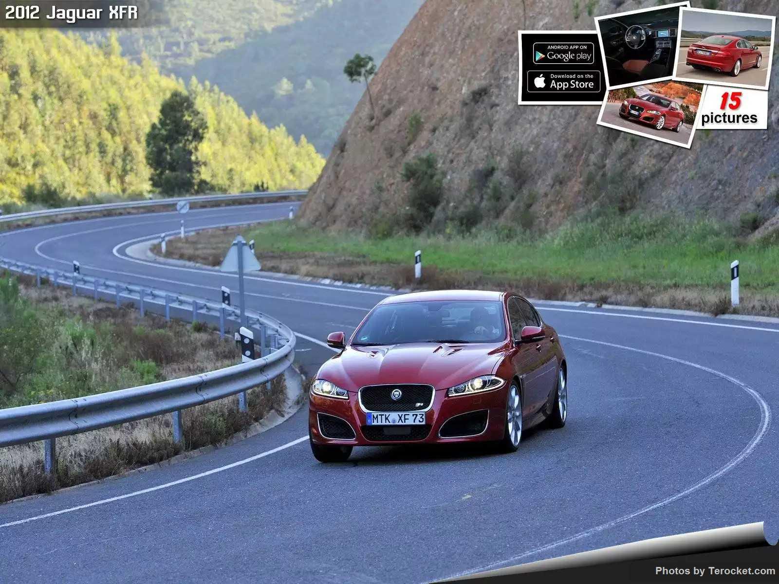 Hình ảnh xe ô tô Jaguar XFR 2012 & nội ngoại thất