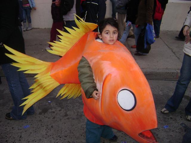 Disfraz de pez niño - Imagui