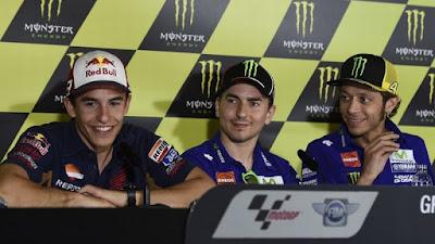 Marc Maquez Menjawab Tuduhan Rossi Dirinya Membantu Lorenzo