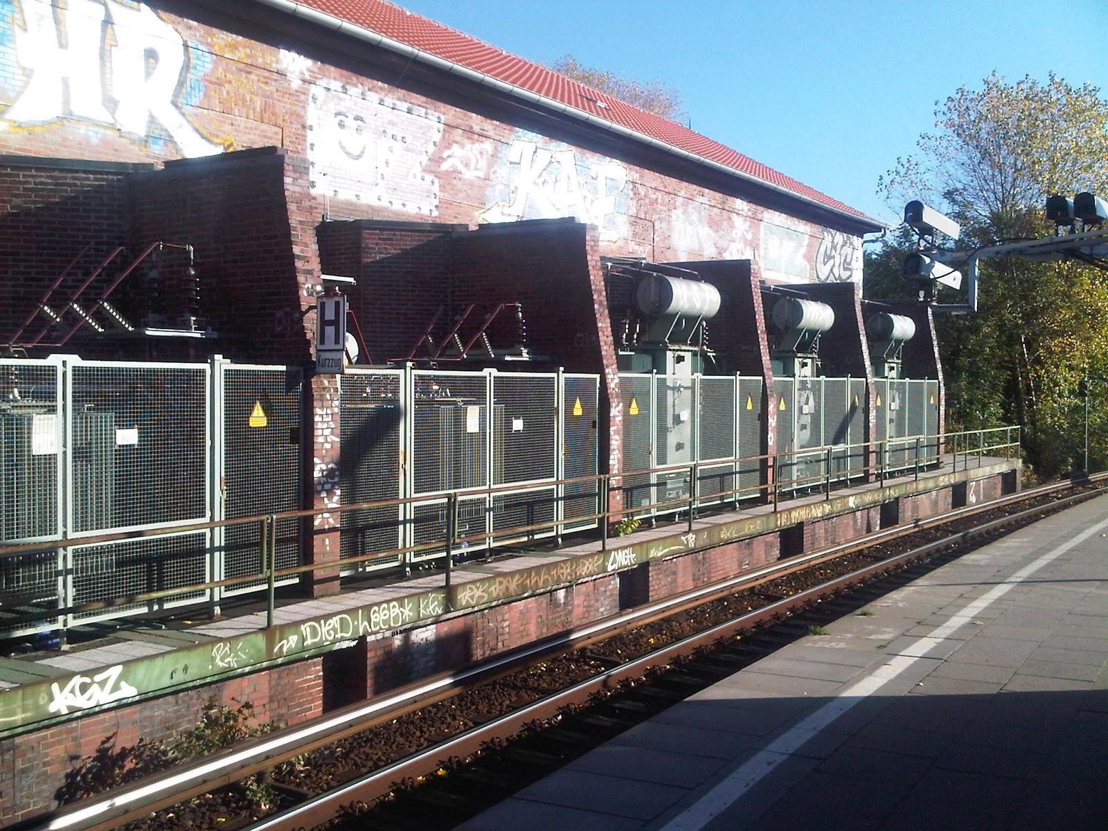 Umspannwerk - S-Bahn-Station Berliner Tor