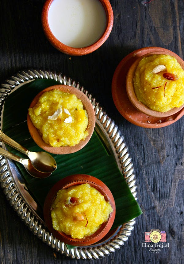 Pineapple Kesari Baath (Pineapple Halwa)