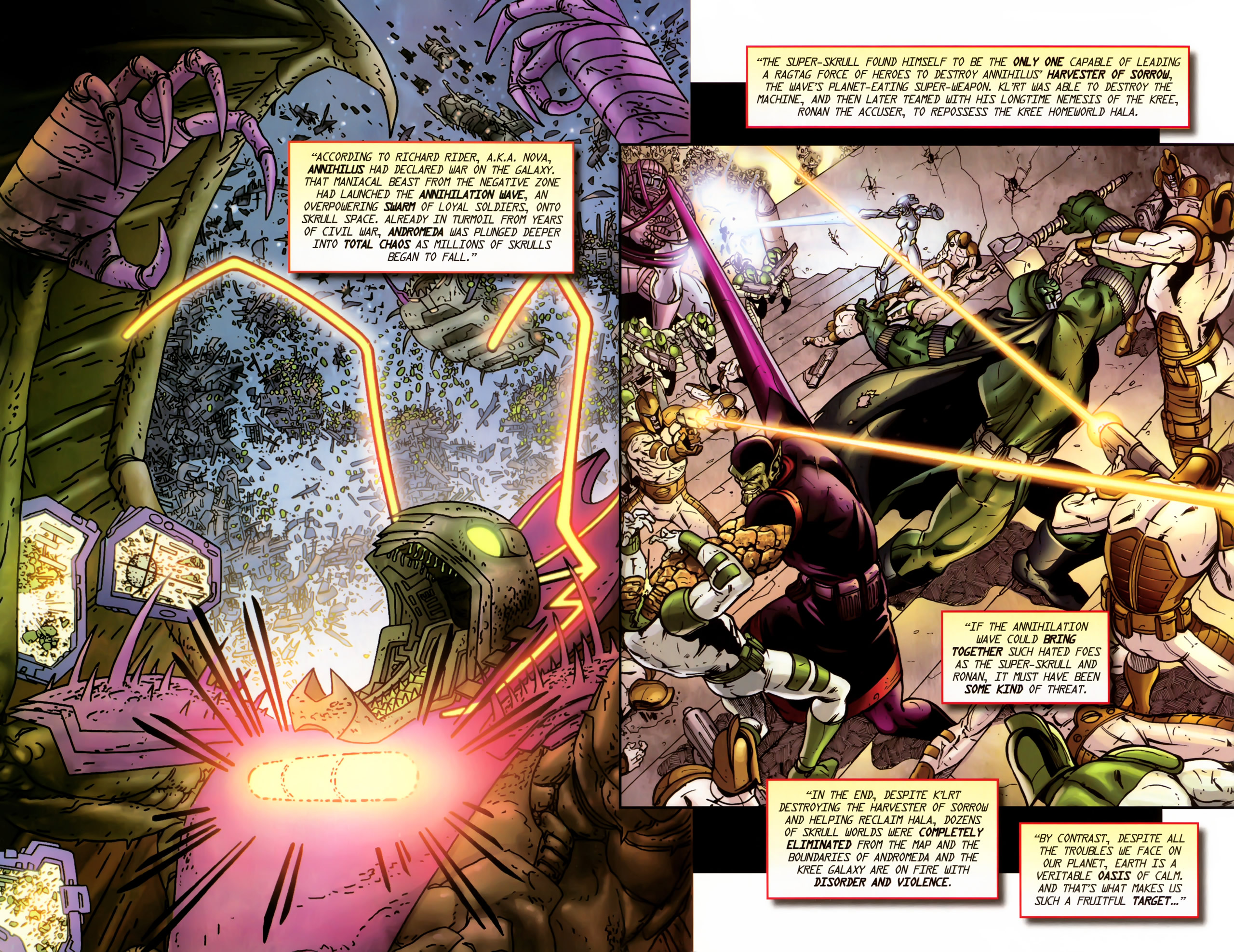 Read online Secret Invasion: The Infiltration comic -  Issue #11 - 24