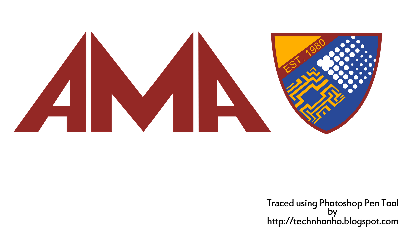 High Resolution AMA Computer University Logo by TechNHO ~ Technhology ...