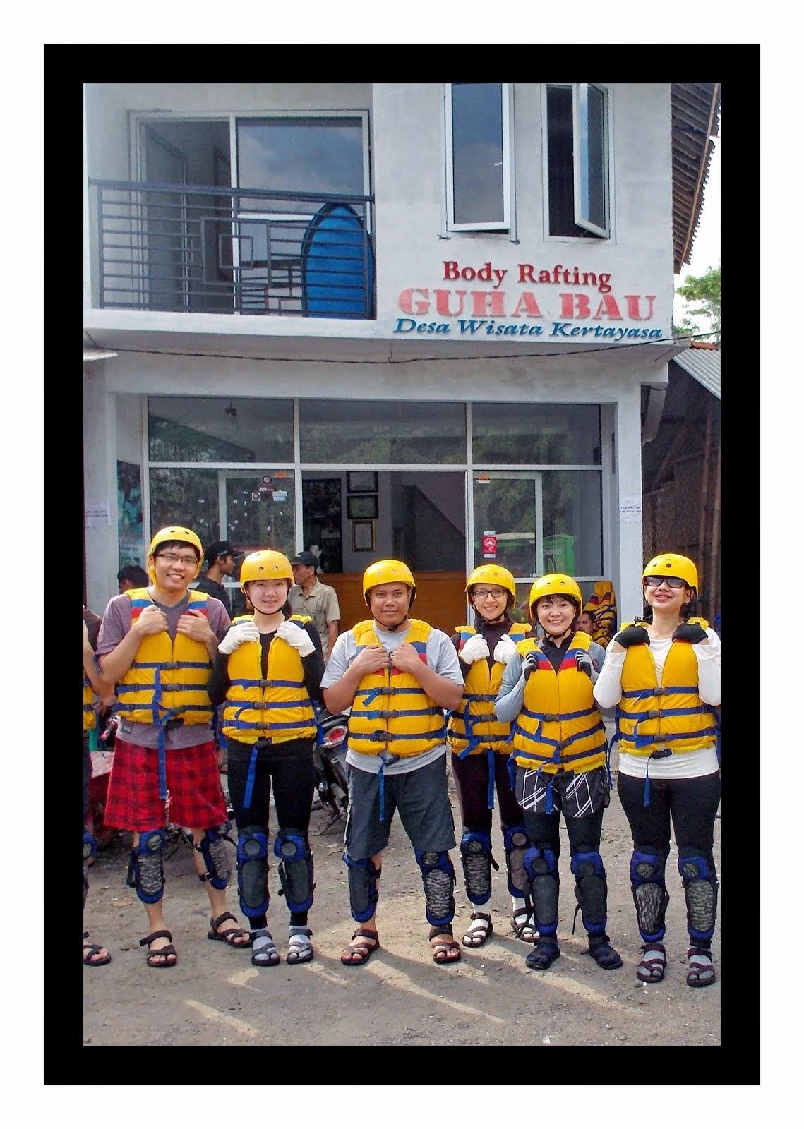 Start Sekretariat Body Rafting