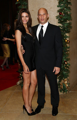 Vin Diesel With Wife
