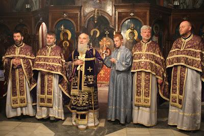 Литургија Пређеосвећених Дарова - срце великопосних богослужења