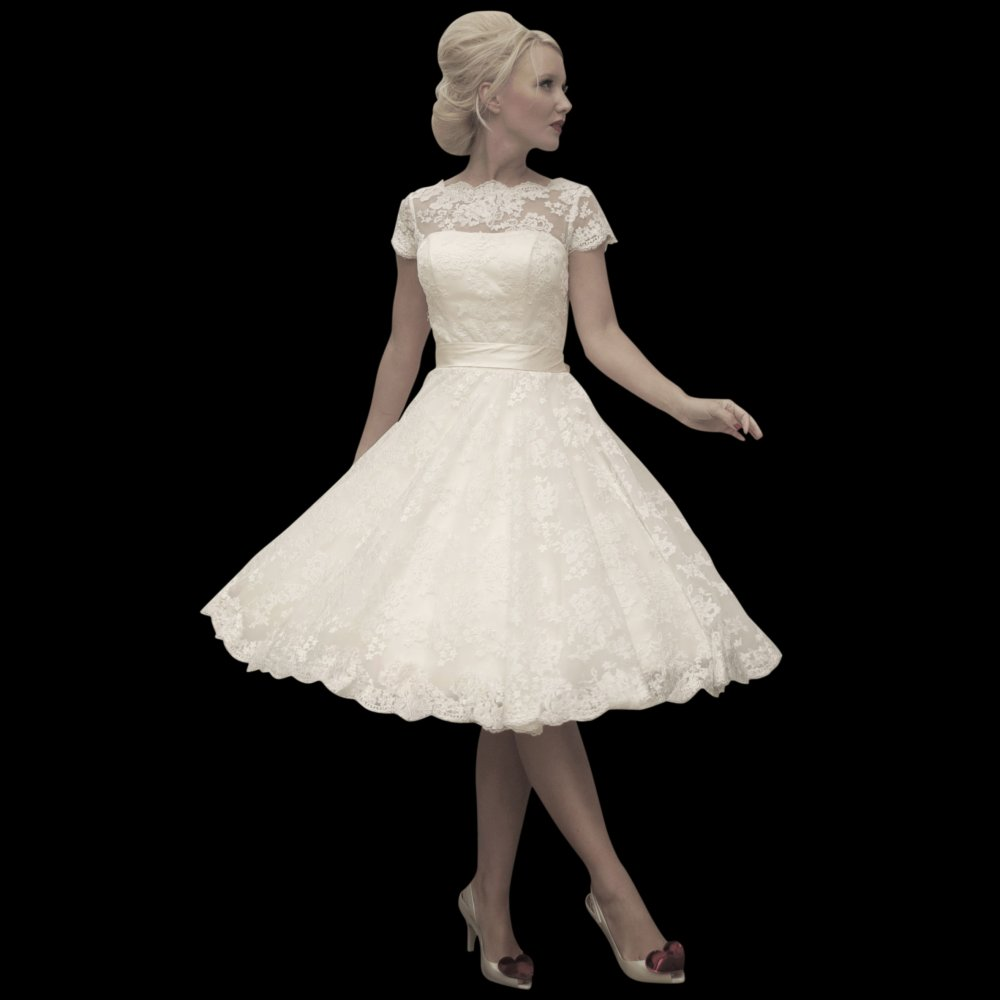 Wedding Dress For Short Brides : Short wedding dresses for older brides