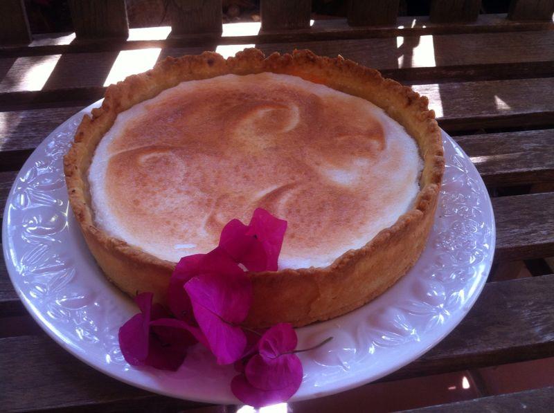 Tarta de Vainilla y Merengue de Limón