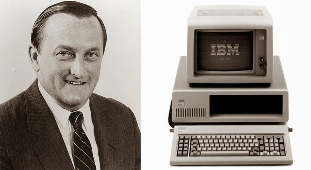 The project manager who had given birth to the IBM model 5150 in less than a year, died of a heart attack at the age of 72.