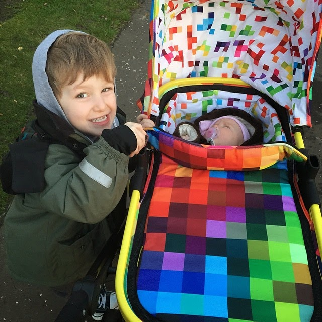 Rainbow Pram Pushchair