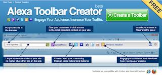 Membuat Alexa Toolbar Untuk Blog
