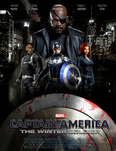 Captain America The Winter Soldier 2014 DVDRip 350mb ESub