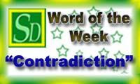 Word of the week - Contradiction