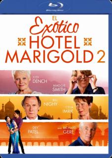 El Exotico Hotel Marigold 2 (2015) DVDRip Latino