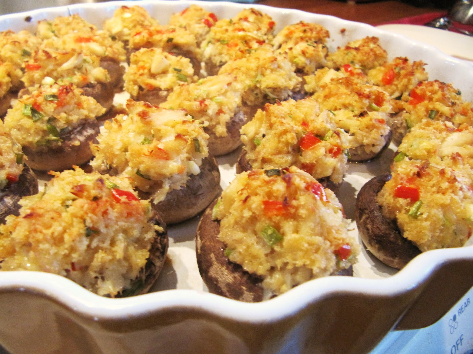 Mama Ozzy's Table: Crab-Stuffed Mushrooms
