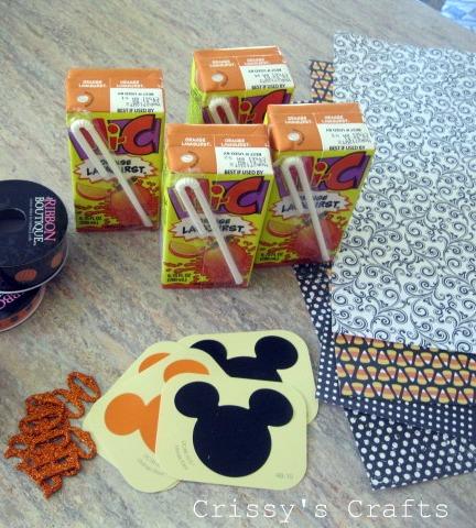 Crissys Crafts Halloween Party 2011 Dress Up A Juice Box