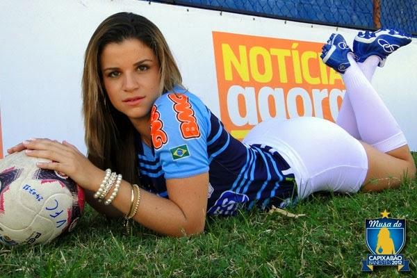 Campeã do concurso Musa do Capixabão 2012 - Jennifer Fantecelle