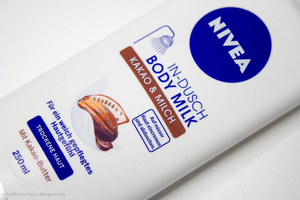 [Review] NIVEA In-Dusch Body Milk