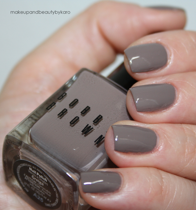 """Greige Nail Polish: Makeup&beauty By Karo: Bobbi Brown """"Greige"""" Nail Polish"""