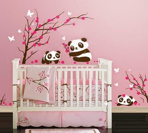 Jolie Décoration chambre bébé Stickers
