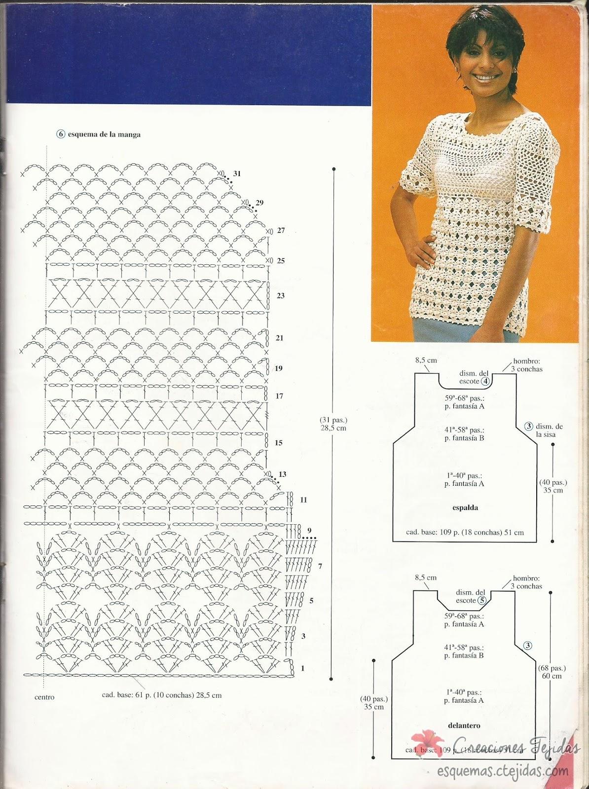 Casaca a Crochet
