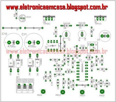 Amplificador de Áudio trasistorizado