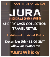 Jura Sherry Cask Collection Tweet Tasting