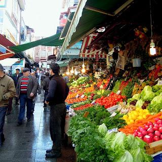istanbul fresh vegetables