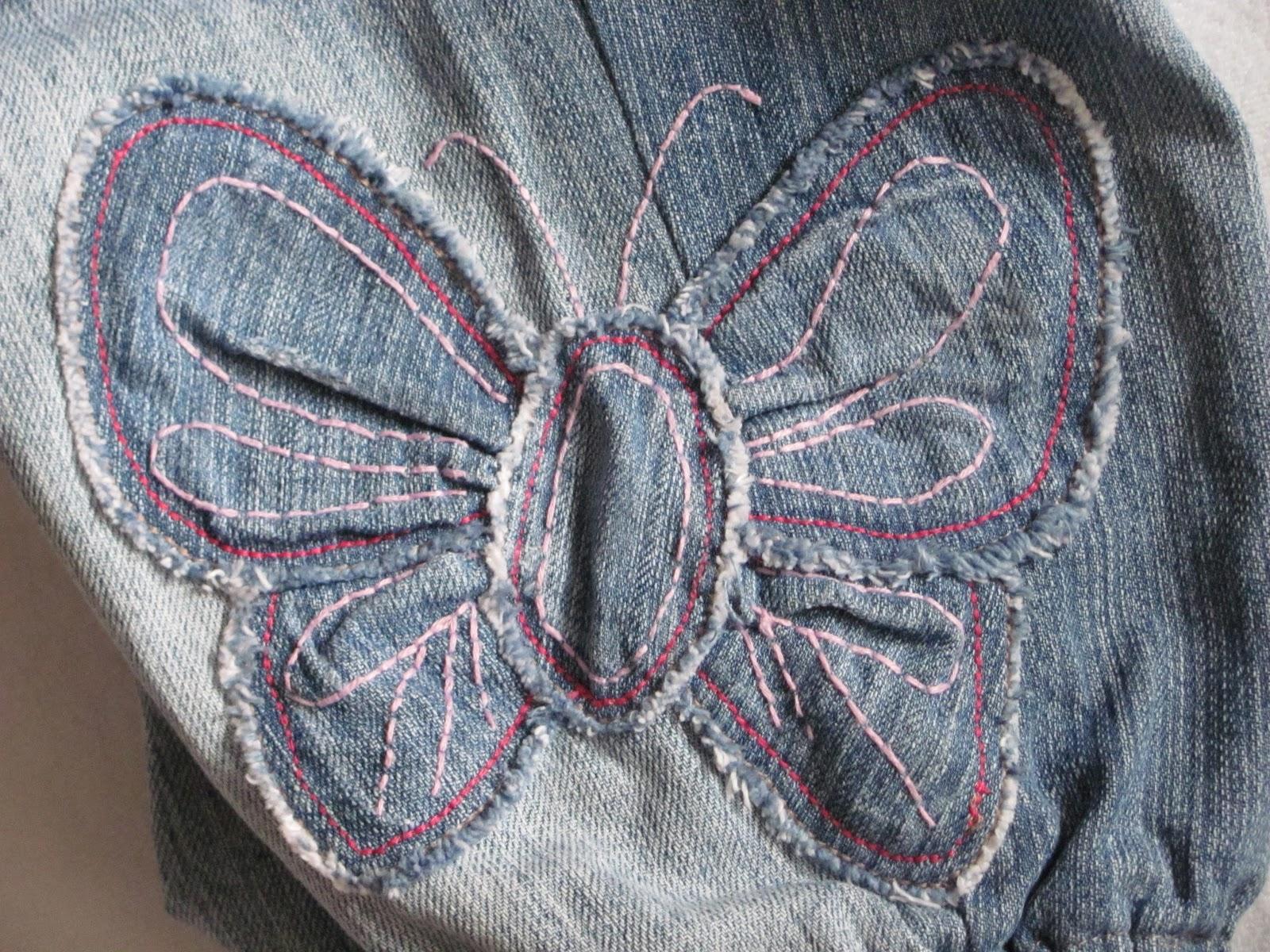 Маленькие джинсы