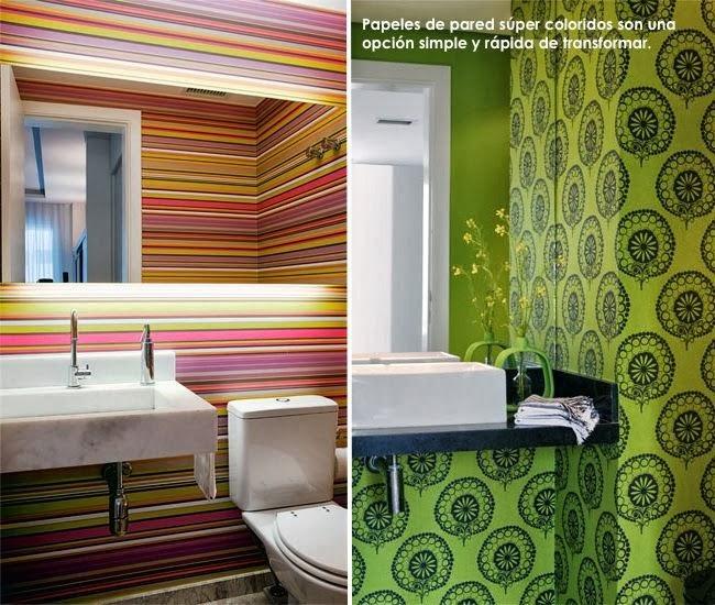 Baños Azulejos De Colores: de finalizar dos obras en las que he colocado papel sobre los azulejos