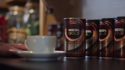 Nescafé surprised visitors in a coffee bar