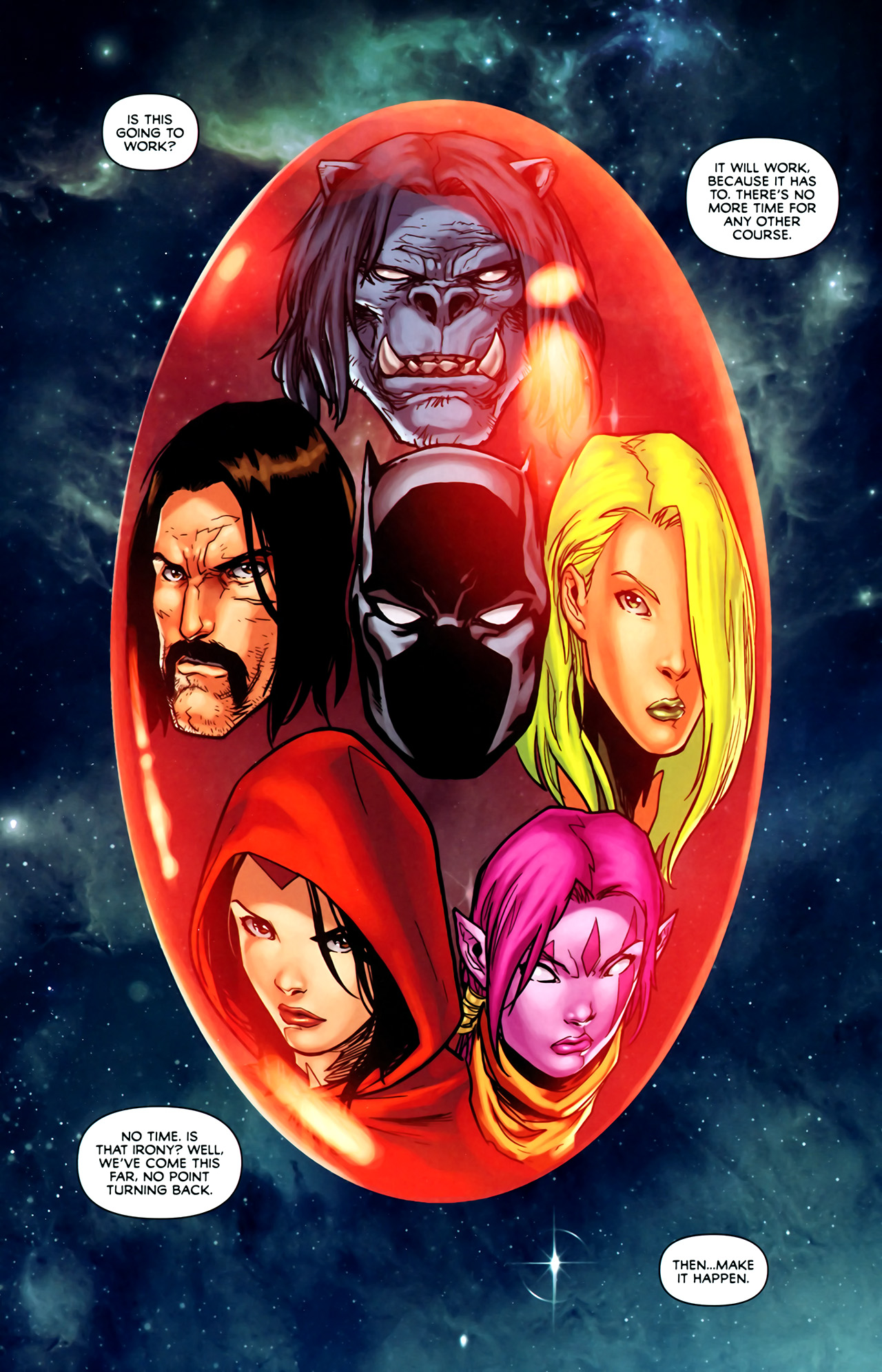 Read online Exiles (2009) comic -  Issue #1 - 3