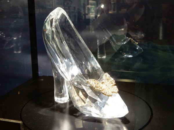 Cinderella movie glass slipper