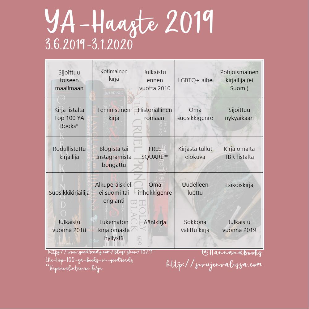 YA-haaste 2019