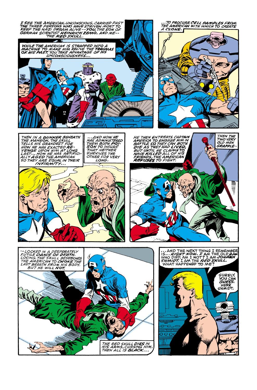 Captain America (1968) Issue #350 #282 - English 53